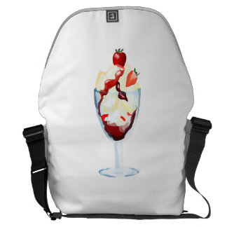 Strawberry Sundae Courier Bags