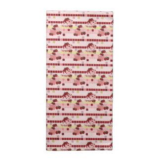 Strawberry Sweet Treats Pattern Napkin