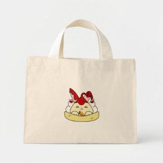 Strawberry Syrup Vanilla Hopdrop Sundae Mini Tote Bag