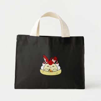 Strawberry Syrup Vanilla Hopdrop Sundae Tote Bags