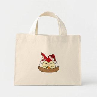 Strawberry Syrup Vanilla Hopdrop Waffle Sundae Canvas Bag
