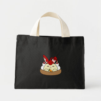 Strawberry Syrup Vanilla Hopdrop Waffle Sundae Canvas Bags