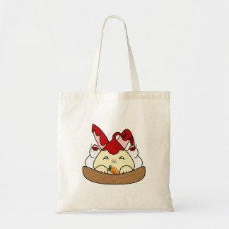 Strawberry Syrup Vanilla Hopdrop Waffle Sundae Tote Bag