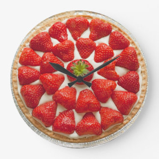 Strawberry Tart Wall Clock