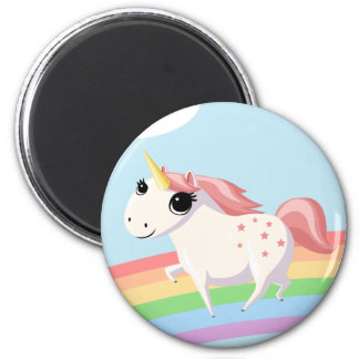 Strawberry the Unicorn Magnet