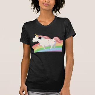 Strawberry the Unicorn on Rainbow T-Shirt