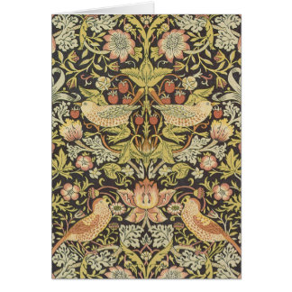 Strawberry Thieves by William Morris Card