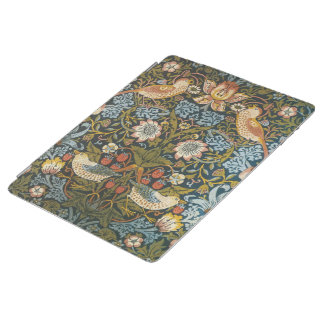 Strawberry Thieves by William Morris, Textiles iPad Cover