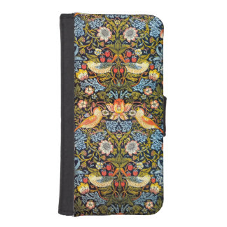 Strawberry Thieves iPhone 5/5S Wallet Case