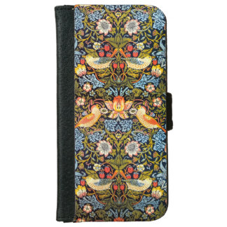 Strawberry Thieves iPhone 6/6S Wallet Case