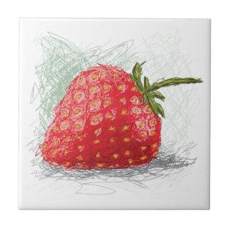 strawberry tile
