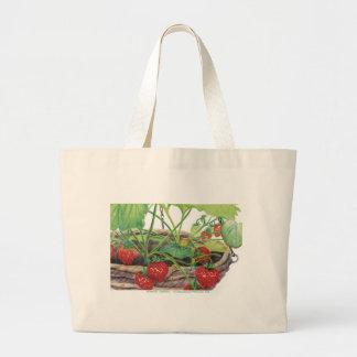Strawberry Jumbo Tote Bag
