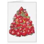 Strawberry Tree Greeting Card
