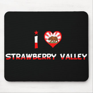 Strawberry Valley, CA Mouse Pads