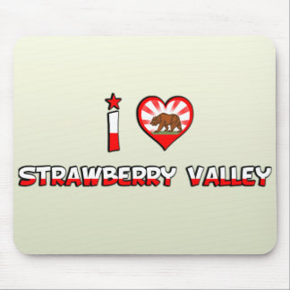 Strawberry Valley CA Mousepads