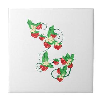 Strawberry Vine Tile