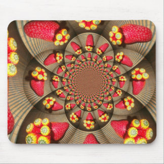 STRAWBERRY VINTAGE RED AND YELLOW.jpg Mouse Pad