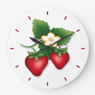 Strawberry Wall Clocks