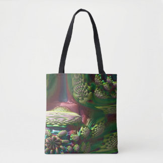 Strawberry world tote bag