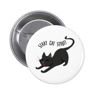Stray Cat Strut 6 Cm Round Badge