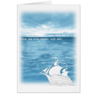 Stray spectacle greeting card