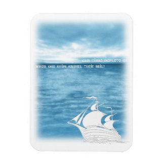 Stray spectacle rectangular photo magnet