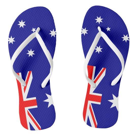 f5490fe2732 Straya Aussie Flag Thongs