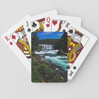 Štrbački buk waterfall in Bosnia and Herzegovina Playing Cards
