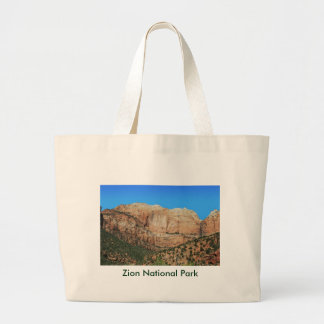 Streaked Wall and the Beehives Large Tote Bag