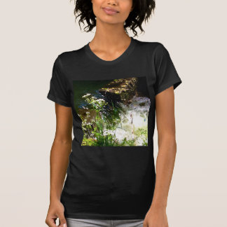 Stream Green Colourful Nature Design T-Shirt