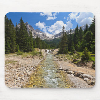 stream in Contrin Valley Mouse Pad