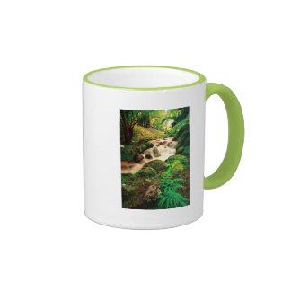 Stream in the forest ringer mug