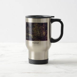 Stream In The Woods By Troyon Constant Coffee Mugs