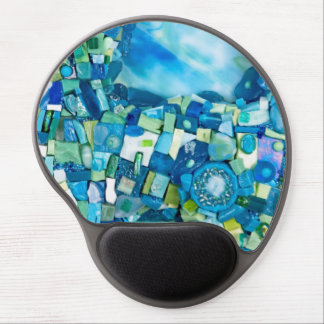 Stream of Life Mixed Media Mosaic Gel Mouse Pad