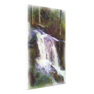 stream oil paint canvas prints