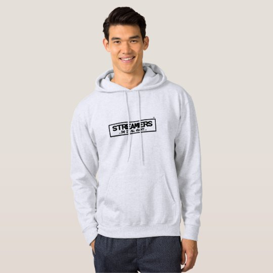 Streamers Men's Basic Hooded Sweatshirt
