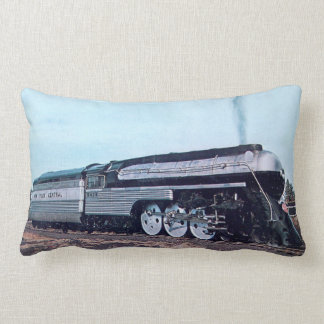 Streamline Steam Locomotive Lumbar Cushion