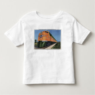 "Streamliner ""400"" to Milwaukee Toddler T-Shirt"