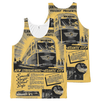 Streamliners For Atlantic City 1941 All-Over Print Tank Top
