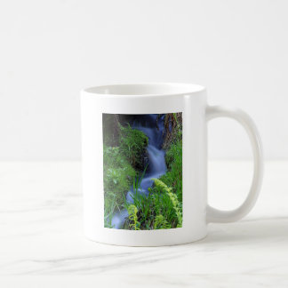 Streams of water! basic white mug