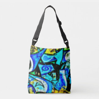 Street Art All-Over-Print Cross Body Bag