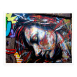 Street art Brick Lane Postcard