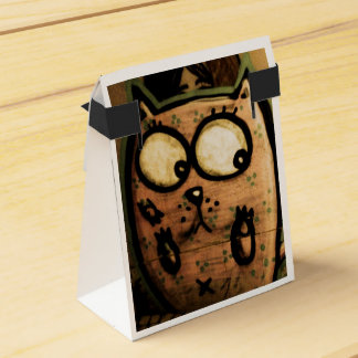 Street art cat favour box