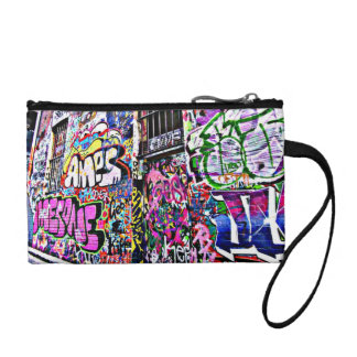 Street Art Coin Clutch
