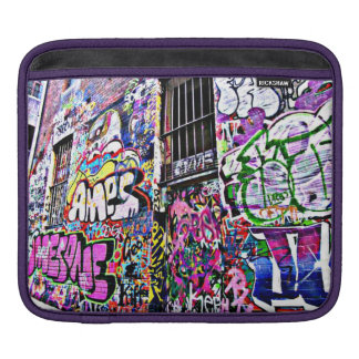 Street Art iPad pad Horizontal iPad Sleeve