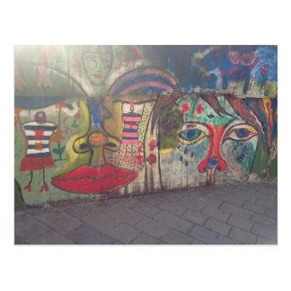 Street Art Postcard