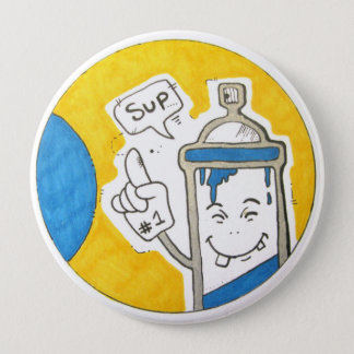 Street artist big badge