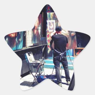Street Artist Star Sticker