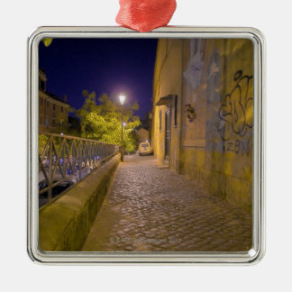 Street at night in Rome, Italy 2 Christmas Ornament