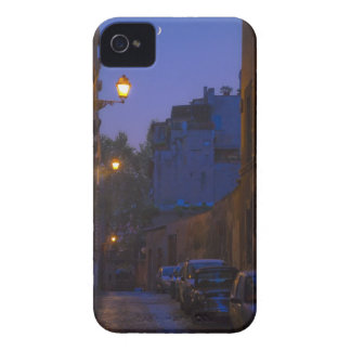 Street at night in Rome, Italy iPhone 4 Case-Mate Cases